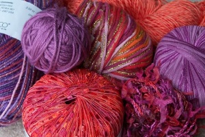 "Yarn for ""Italian Art"" Shawl Wrap"