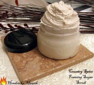 Country Spice Foaming Whipped Sugar Scrub