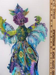 Ballerina, a Fiber Art Doll