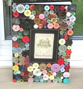 JOURNAL Sweetheart Buttons Galore Blank