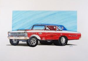 Original Custom Car Art