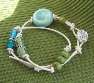 Come Down to the Beach Wrap Bracelet or Choker