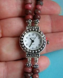 Rhodonite Bracelet Watch