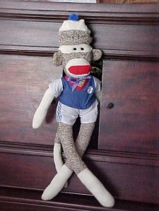 Rockford Red Heel Sock Monkey from the sockmonkeystore