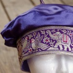 Purple Elephant Beret