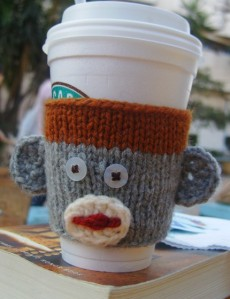 George the Coffee Cup Cozy