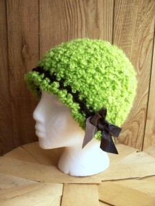 Green Apple Cloche