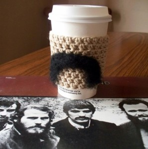 His Moustache Coffee Cup Sleeve