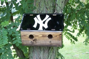 New York Yankees Bird House