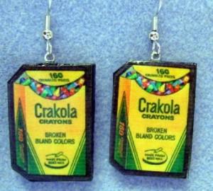 Retro Crakola Wacky Packages