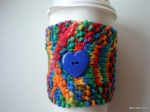 Bright Crayon Colors Coffee Cozy