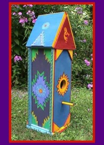 Hopi-Indian Style Birdhouse