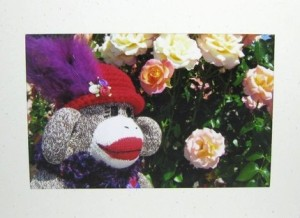 Sock Monkey Card by hoffeeandanuffin