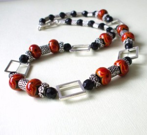 Fire Necklace by Verre Design
