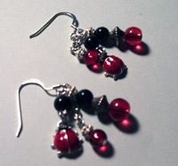 Lady Bug Earrings by lindab142