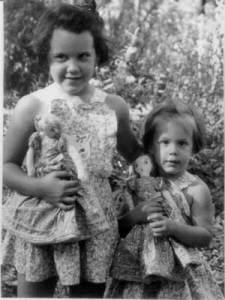 With Matching Dresses and Dolls Made by Mom
