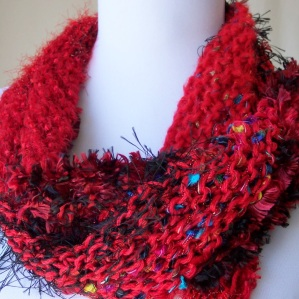 Red and Black Sassy Wrap