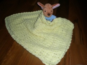 Sunshine Shells Baby Blanket