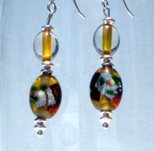 Amber Elegance Earrings BHV