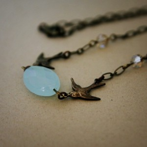 Darling Swallow Necklace