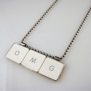 OMG Computer Key Pendant by creativedexterity