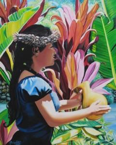 Rhythm of the Hula by kauaiartist
