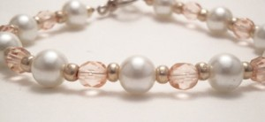 Signature Pink and Pearl Bracelet