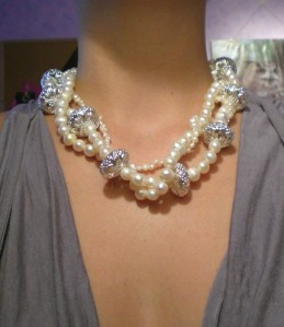 White Mermaid's Pearl Necklace