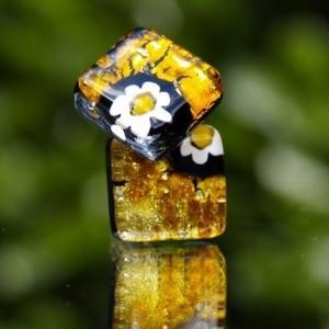 Flower Power Cuff Links
