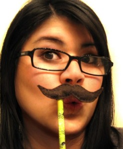 Moustache Disguise Pencil Topper by kieutiepie