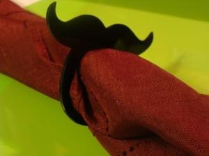 Mustache Napkin Holders Set of 4 by LittleAngelsJewelry