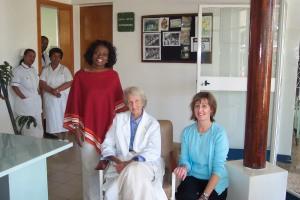 Serena, Dr. Hamlin and Sue