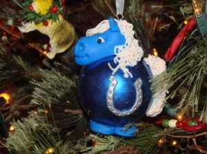 Colts X-Mas Ornament