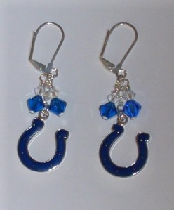 Indianapolis Colts Earrings