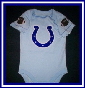 Indianapolis Colts Baby Onesie