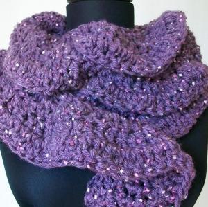 Lavender Scarf Giveaway