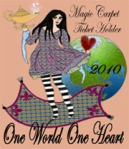 One World One Heart Badge