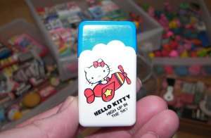 Hello Kitty Sanio Eraser