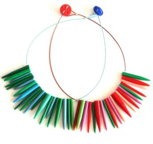 Knitting Needle Necklace