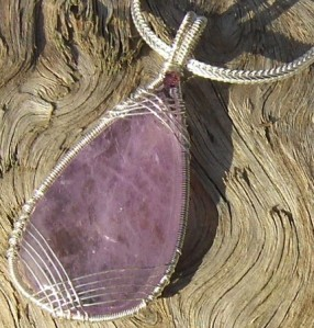 Amethyst Sterling Necklace