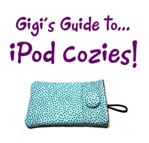 Fabric iPod iPhone Cozy Tutorial