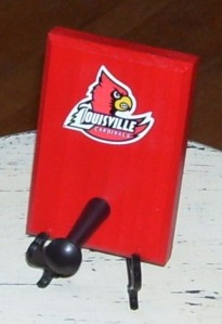 Louisville Cardinals Coat Rack